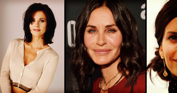 Courteney Cox Lets All Her Facial Fillers Dissolve
