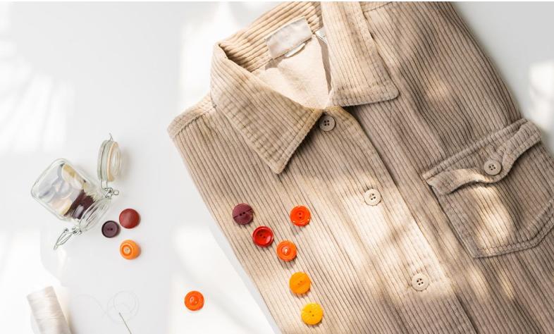 Button stitch sew